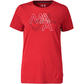 Maloja HaldeM. T-Shirt Dames, red poppy